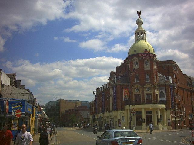 Wimbledon Theatre at Wimbledon Broadway