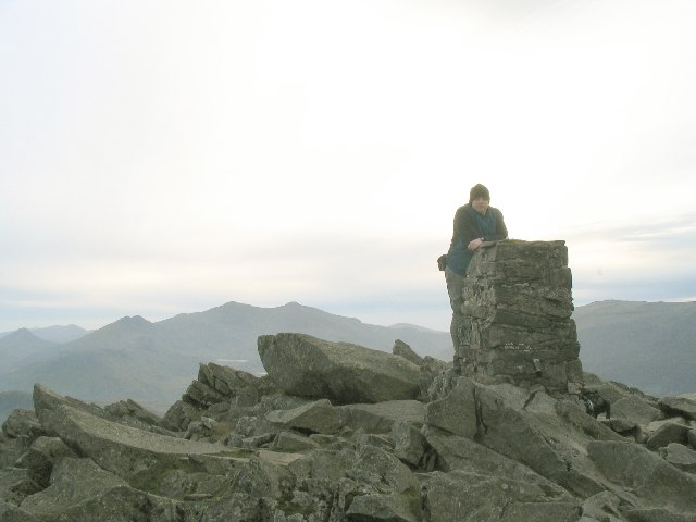 Moel Siabod trig point