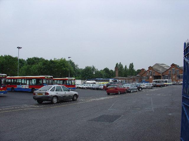 Fulwell Bus Garage