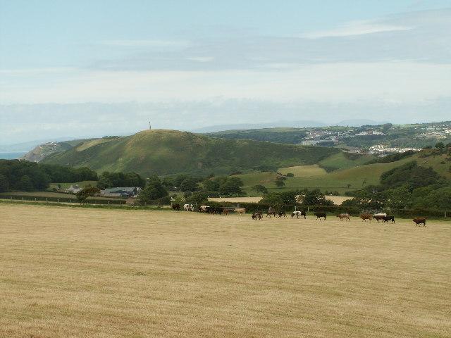 Farmland, Pen-y-graig