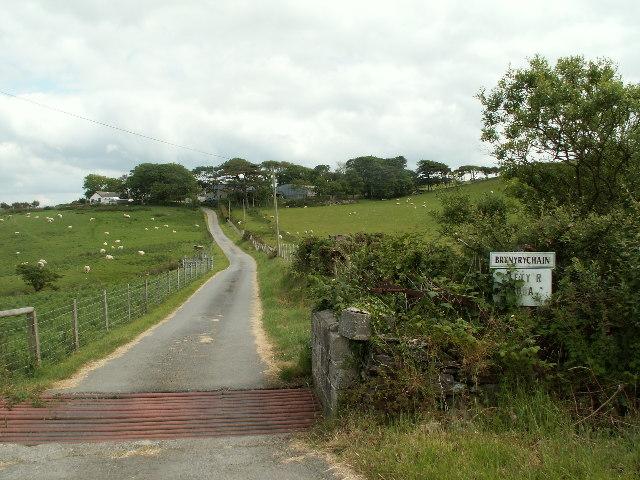 Brynyrychain farm