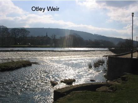 The Weir by Otley Bridge