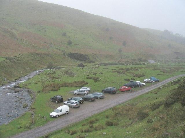 Car park below Llyn y Fan Fach