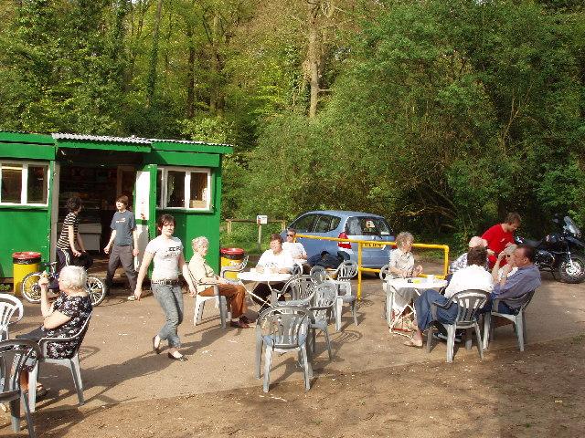 Cafe near Pumpkin Hill, Burnham Beeches