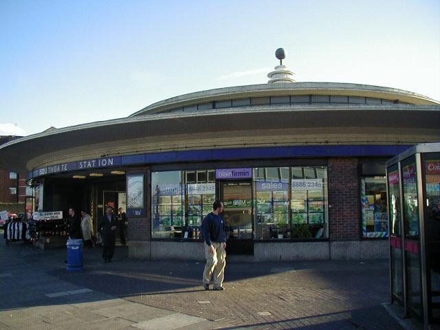 Southgate Underground Station