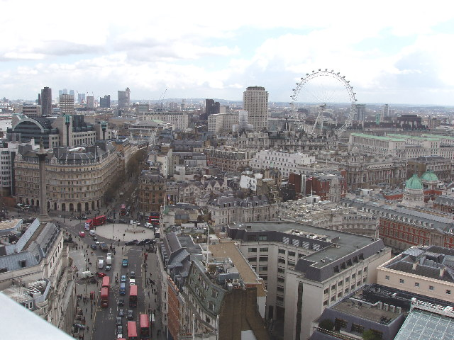View West from New Zealand House, Haymarket