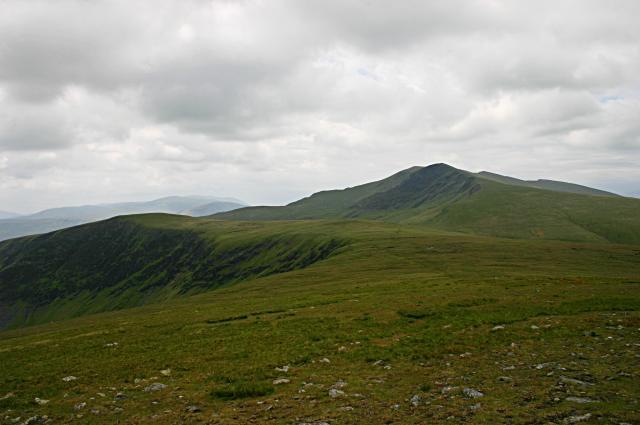 Near the summit of Bowscale Fell