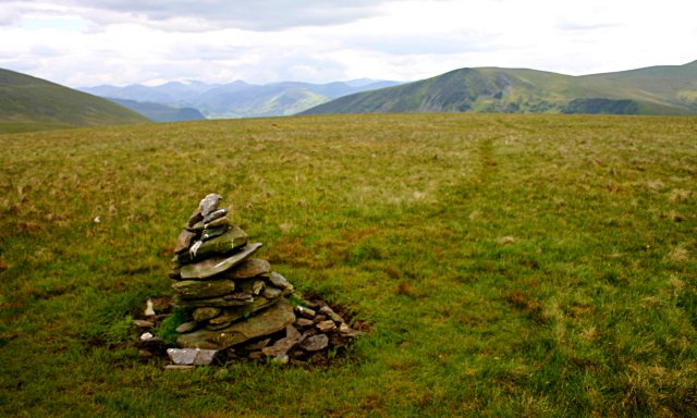 "The ""summit"" cairn of Mungrisdale Common"