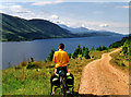 NN2694 : Loch Lochy Cycle Path by Bob Tinley