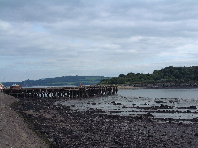 East Ness Pier at Inverkeithing
