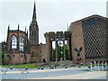 SP3379 : Coventry Cathedral by Kevin Croucher