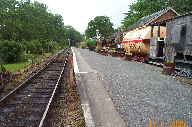 Staverton Railway Station