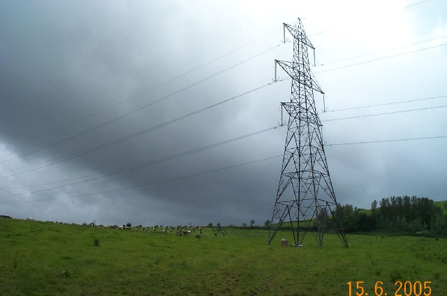Near Staverton sub station
