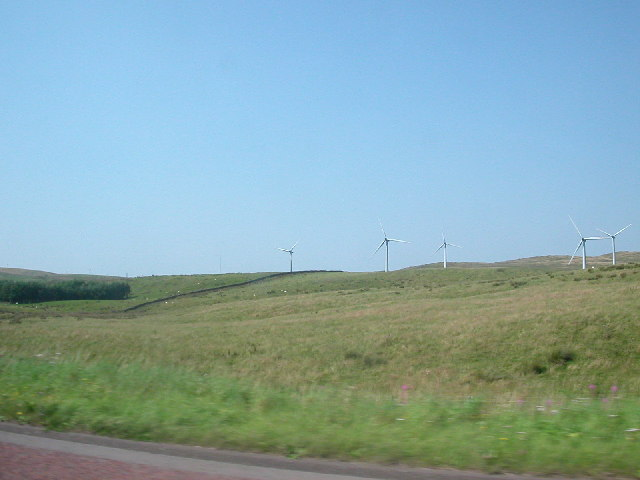 Lambrigg Wind Farm, Cumbria.