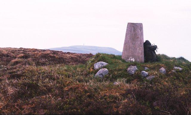 Summit of Beinn Lunndaidh