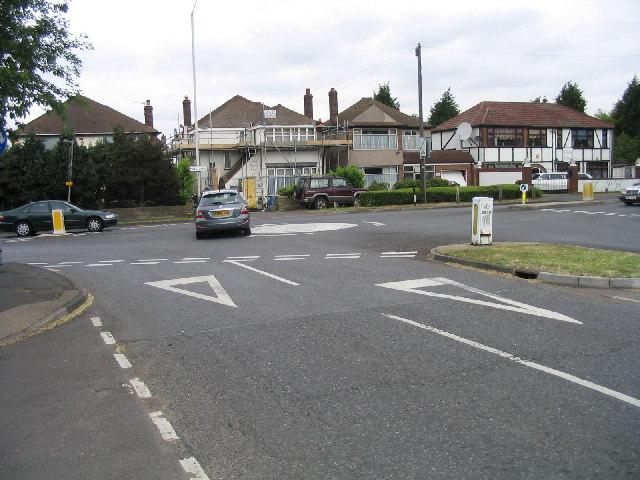 Junction of Hall Lane & Avon Road, Upminster, Essex