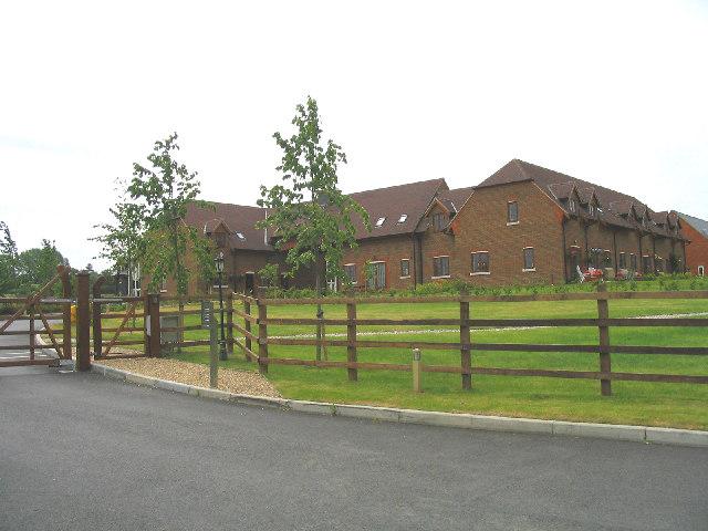 New 'gated' housing development, Hall Lane, Upminster