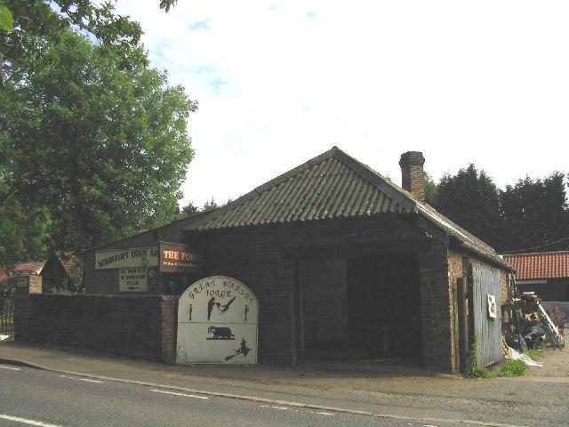 Village Blacksmith's shop, Great Warley, Essex