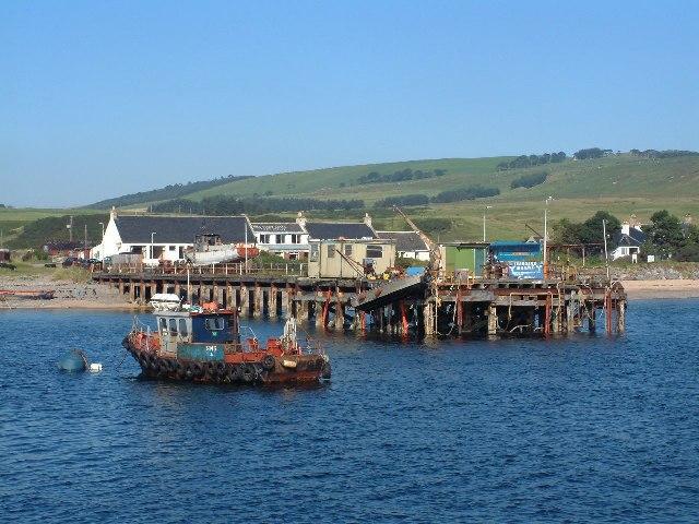 Nigg Ferry Pier