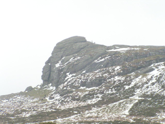 Haytor in Winter