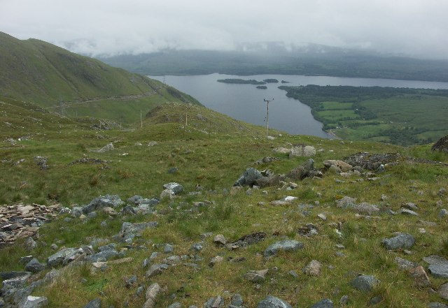 Loch Awe and road up to Cruachan Dam