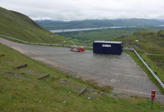 Cruachan Dam visitors' car park