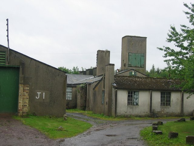 Old military buildings, Gilmerton.