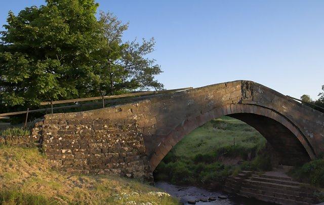 Duck Bridge between Danby & Houlsyke
