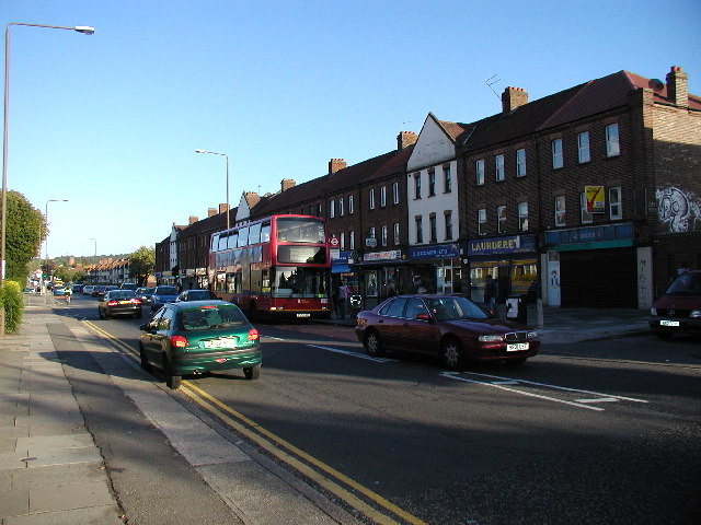 Shooters Hill Road shops