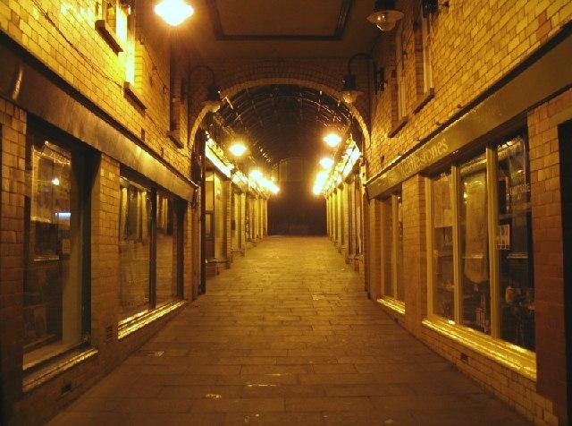 The Arcade, Ammanford town centre