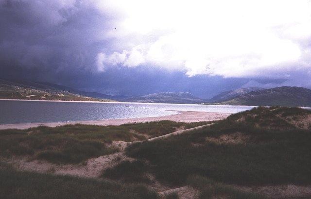 Dunes near the Corran.