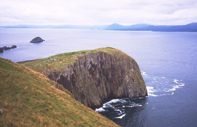 North coast of Garbh Eilean