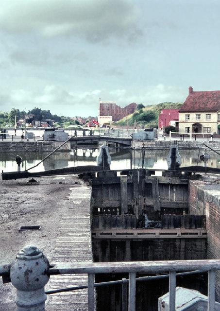 Bridgwater Docks 1968