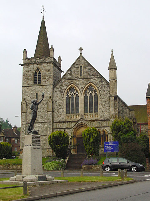 The War Memorial and United Reformed Church
