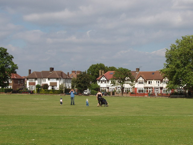 North Acton Playing Field and Eastfields Road