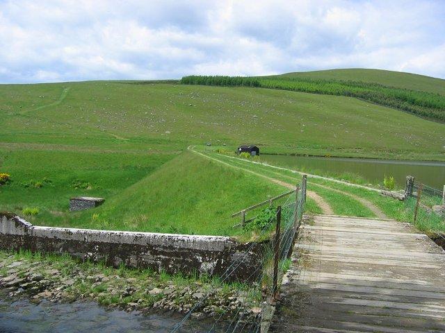 Loch Shandra dam