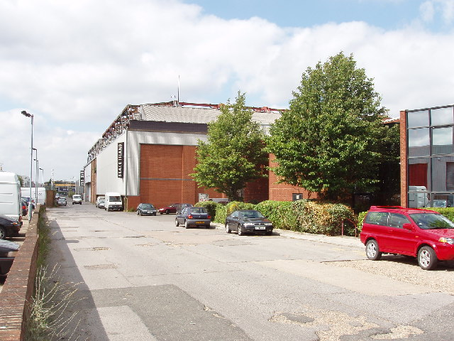 Film studio, Alliance Road, North Acton