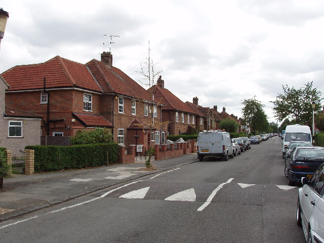 Saxon Drive, West Acton