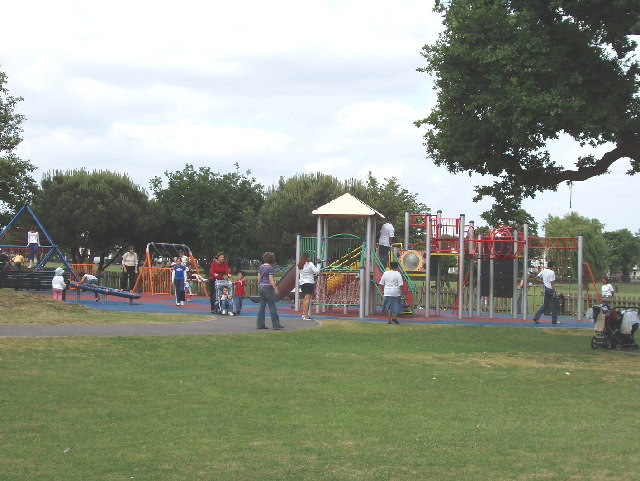 Playground on North Acton Playing Field