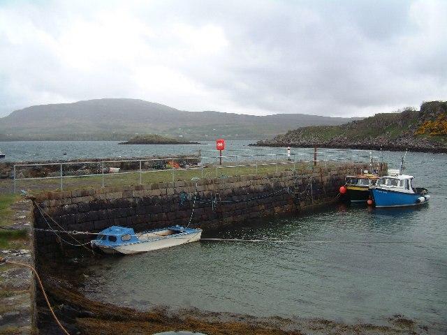 Clachan Pier, Raasay