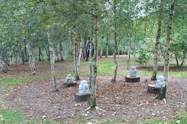 Mythic garden at Stone Farm