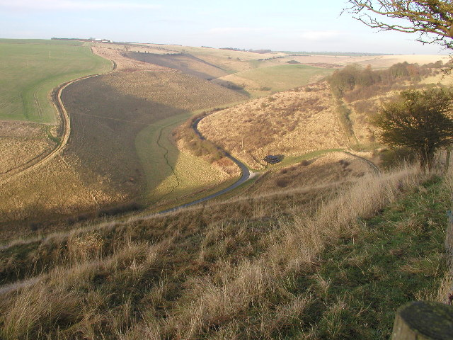 Millington Pastures from the Wolds Way