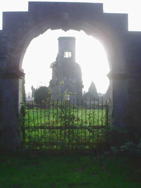Brambletye House ruins