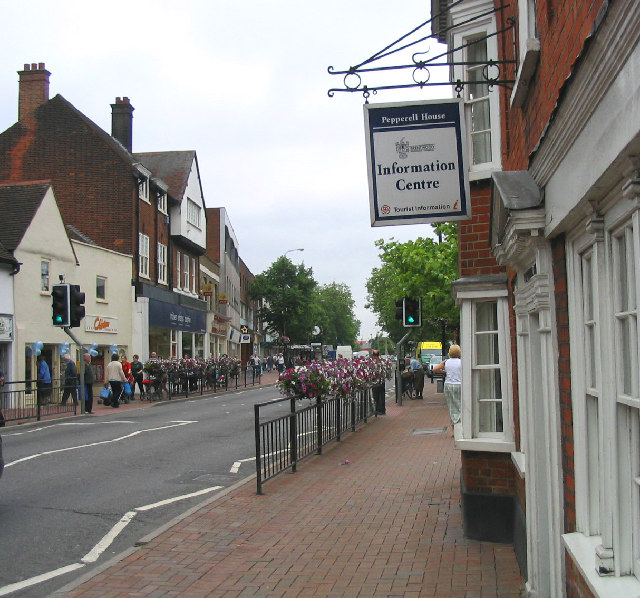 High Street Brentwood Essex