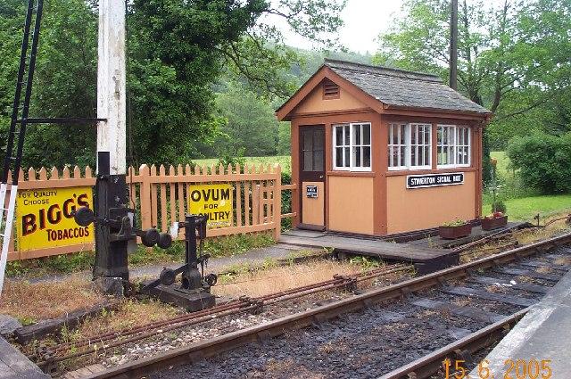 Staverton signal box