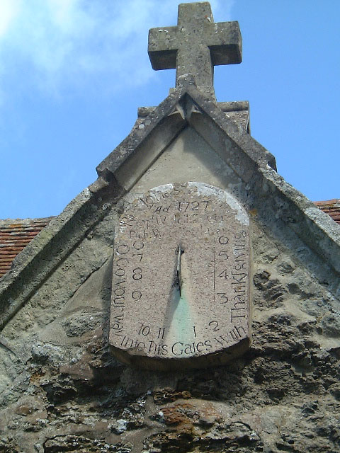Brighstone Church sundial