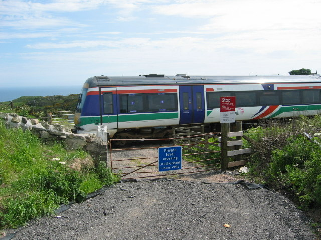 Private level crossing near Blackhills of Cairnrobin