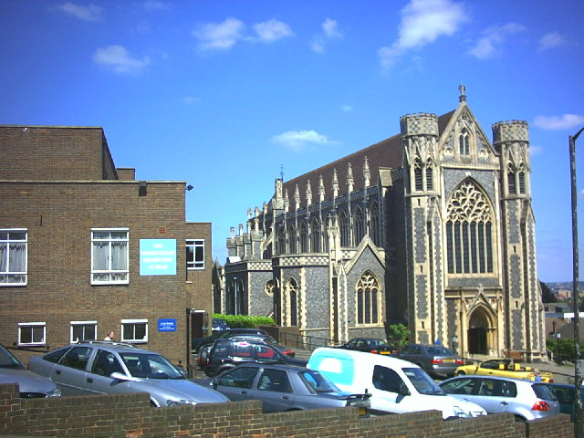 Sacred Heart Church, Edge Hill, Wimbledon.
