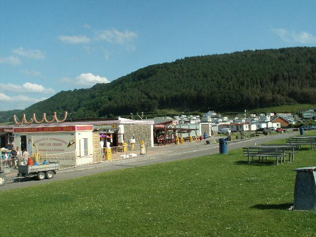 Caravans and Amusements, Clarach Bay