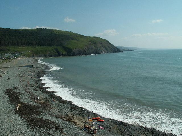 Coastal view, Clarach Bay